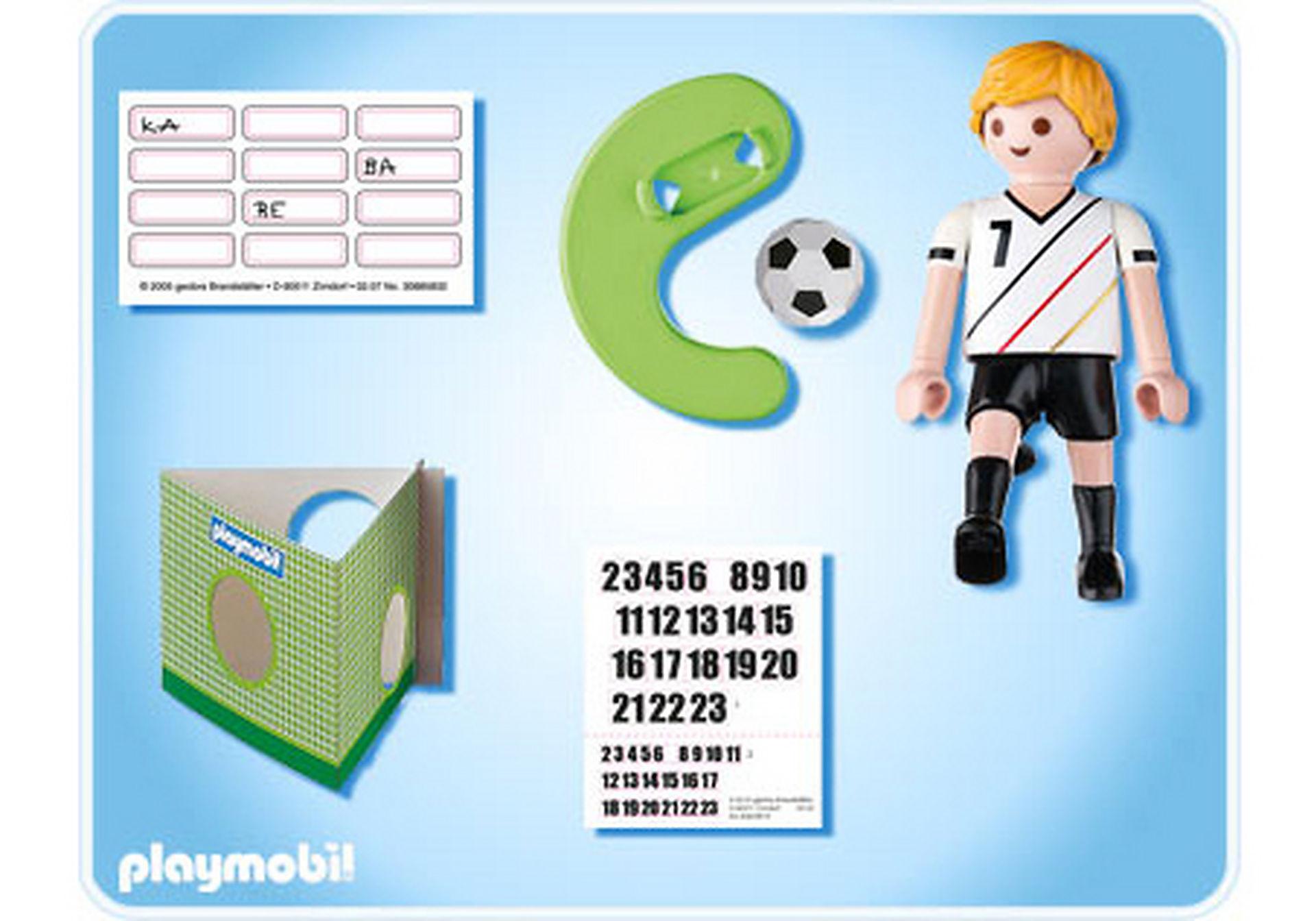 4729-A Fußballspieler Deutschland zoom image2