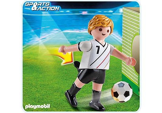 4729-A Fußballspieler Deutschland detail image 1