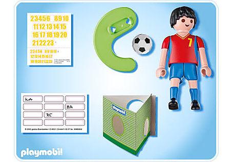 4730-A Fußballspieler Spanien detail image 2