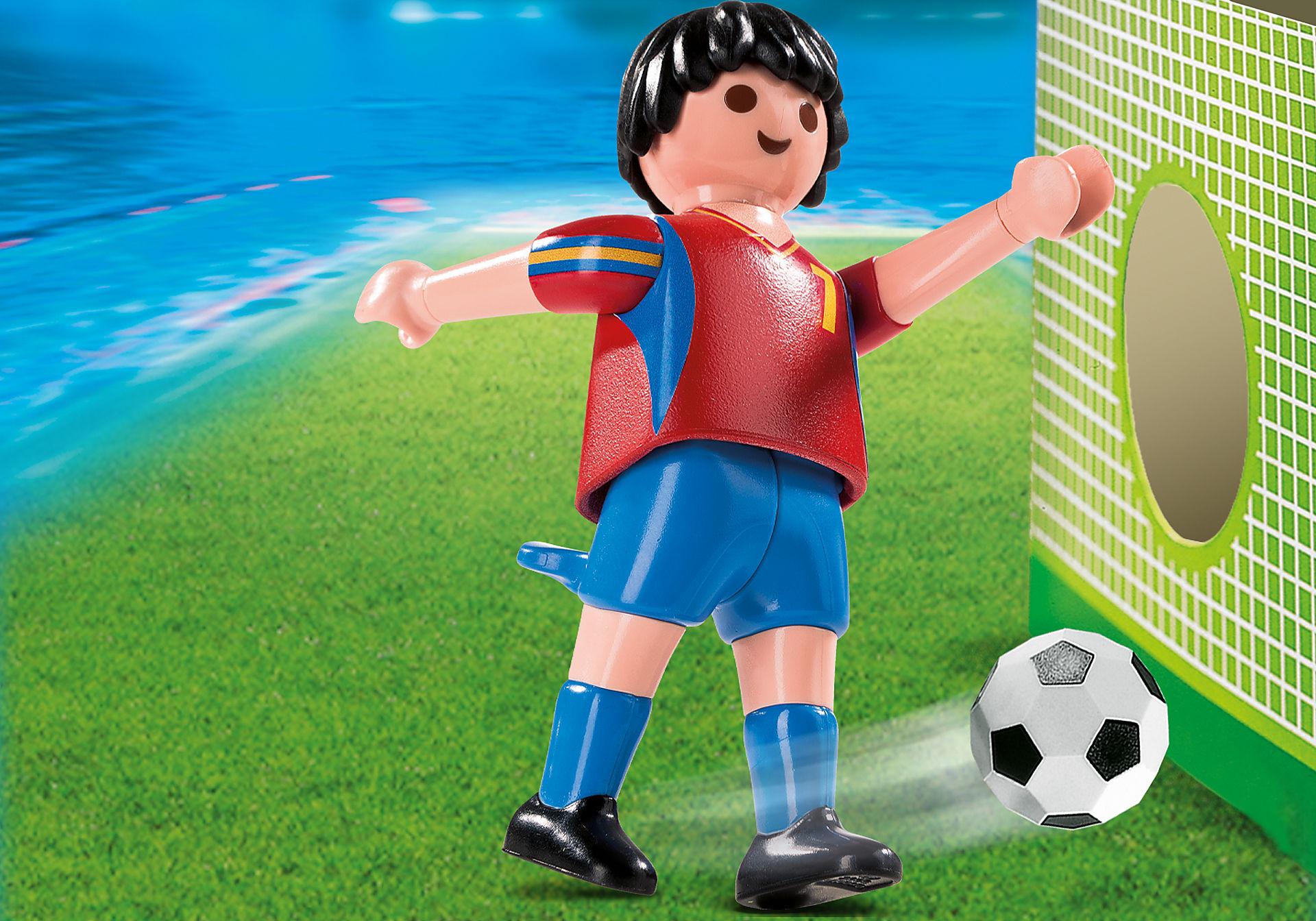 4730-A Fußballspieler Spanien zoom image1