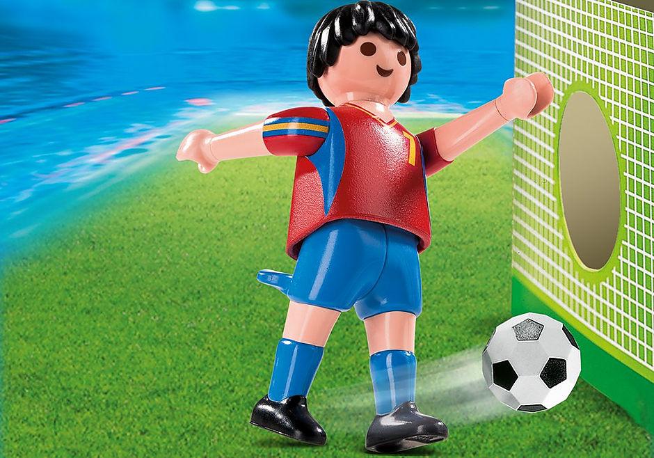 4730-A Fußballspieler Spanien detail image 1