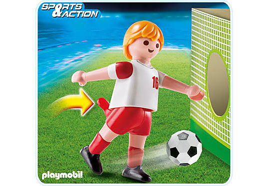 4731-A Fußballspieler Polen detail image 1