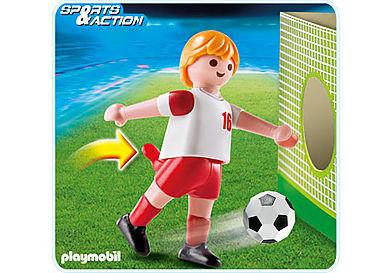 4731-A Fußballspieler Polen