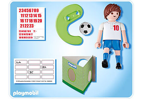4732-A Fußballspieler England detail image 2