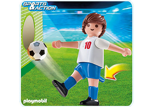 4732-A Fußballspieler England detail image 1