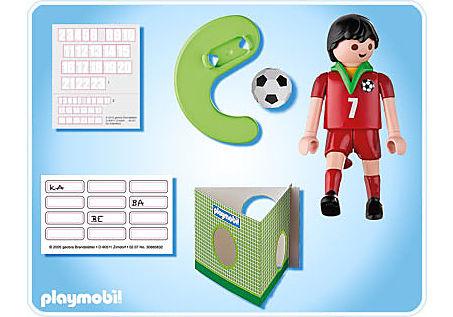 4734-A Fußballspieler Portugal detail image 2