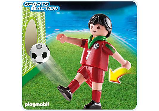 4734-A Fußballspieler Portugal detail image 1
