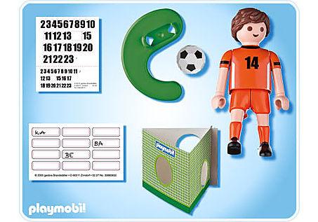 4735-A Fußballspieler Niederlande detail image 2