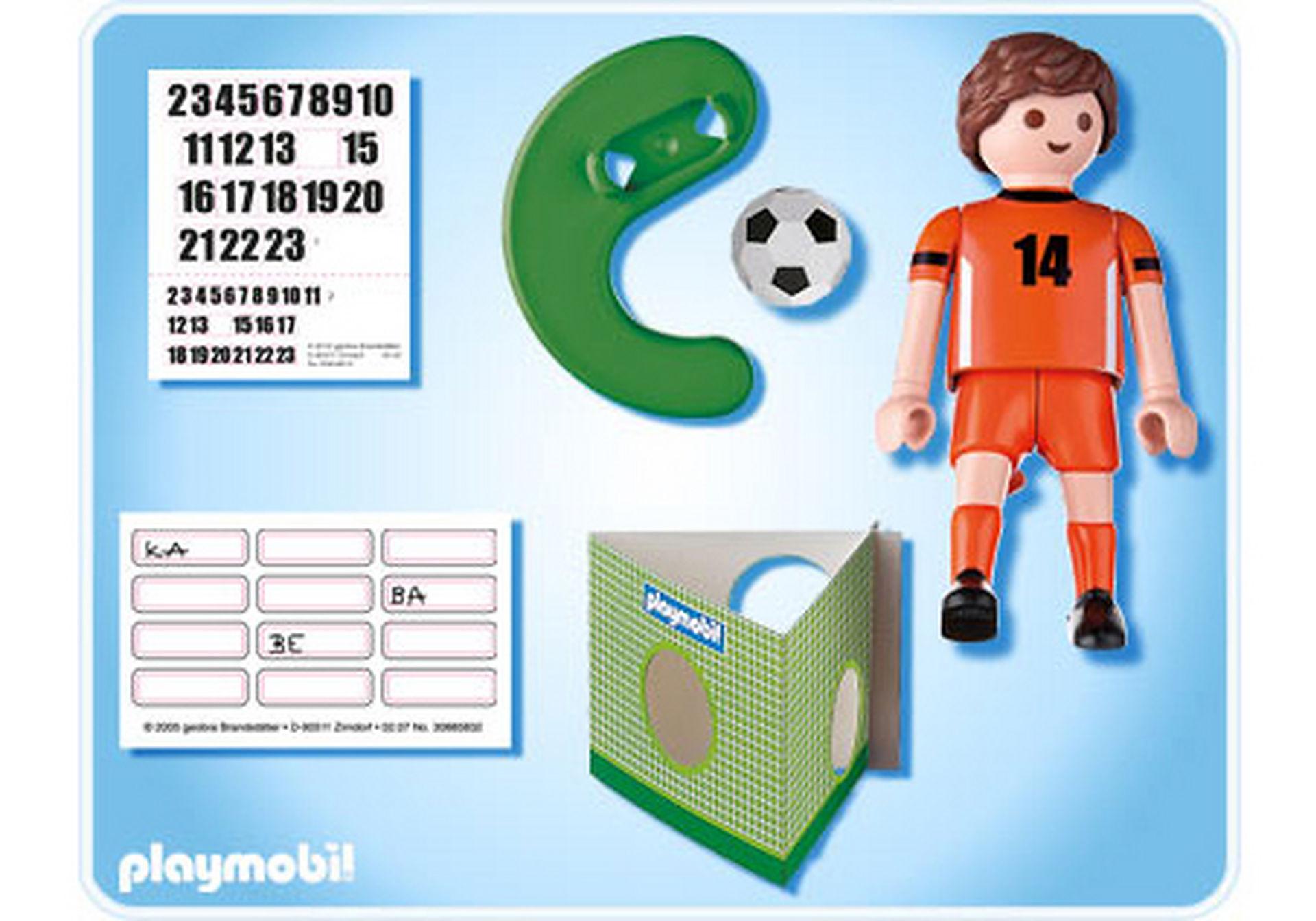 4735-A Fußballspieler Niederlande zoom image2
