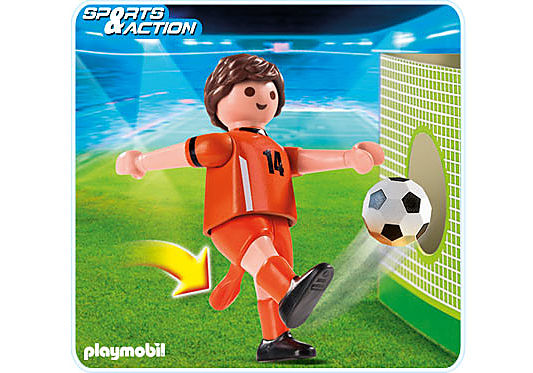 4735-A Fußballspieler Niederlande detail image 1