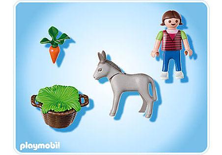 4740-A Kind mit Eselfohlen detail image 2