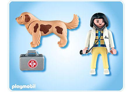 4750-A Tierärztin mit Hund detail image 2