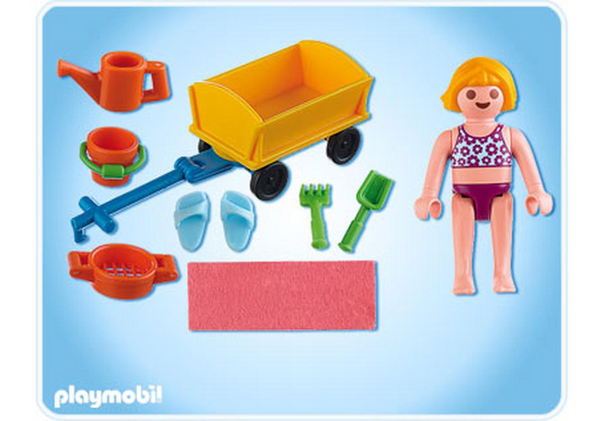 enfant avec jeux de plage 4755 a playmobil suisse. Black Bedroom Furniture Sets. Home Design Ideas