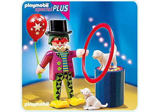 4760-A Clown mit Hundedressur  detail image 1
