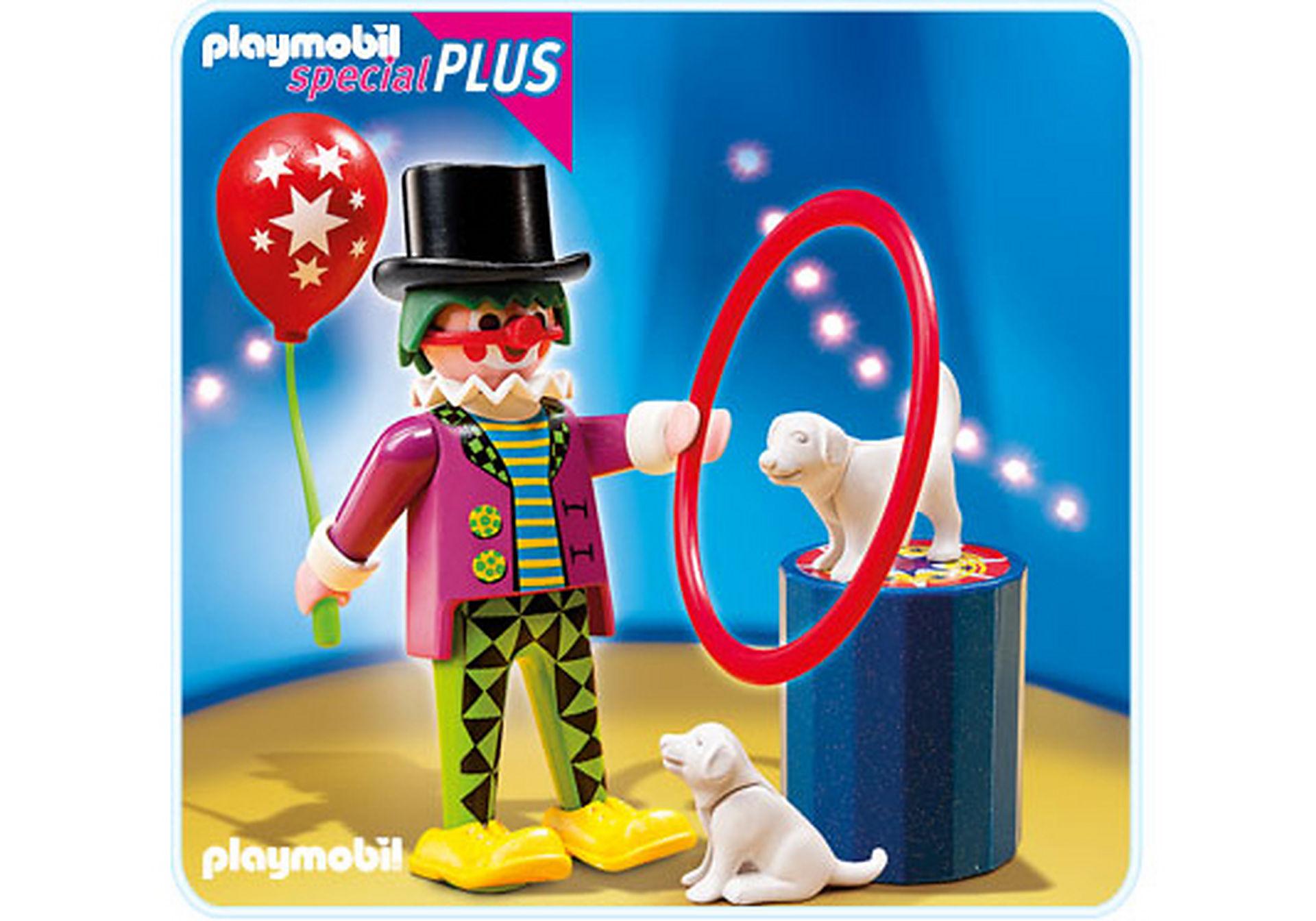 4760-A Clown mit Hundedressur  zoom image1