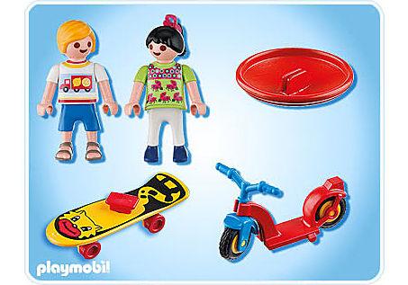 4764-A 2 Kinder mit Spielgeräten detail image 2