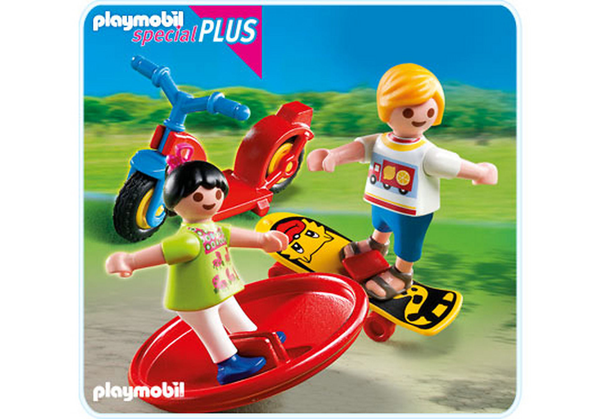 4764-A 2 Kinder mit Spielgeräten zoom image1