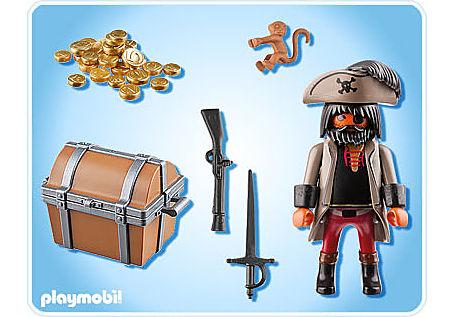 4767-A Finsterer Pirat mit Schatztruhe detail image 2