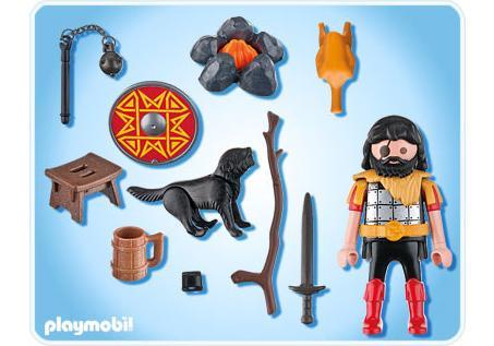 http://media.playmobil.com/i/playmobil/4769-A_product_box_back/Barbar mit Hund am Lagerfeuer
