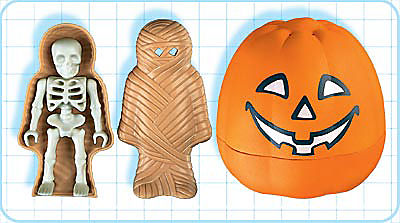 4773-A HalloweenSet - Mumie detail image 2