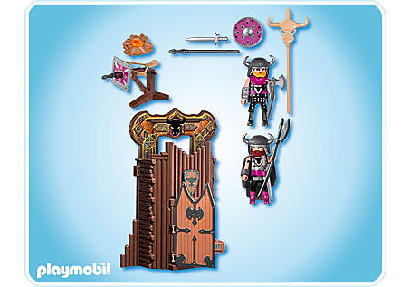 4774-A Citadelle des barbares transportable detail image 2