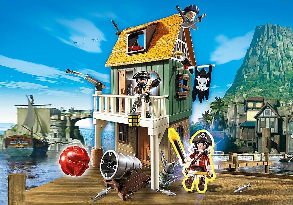 http://media.playmobil.com/i/playmobil/4796_product_detail/Замаскированный Пиратский Форт с Руби