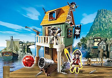 4796_product_detail/Замаскированный Пиратский Форт с Руби