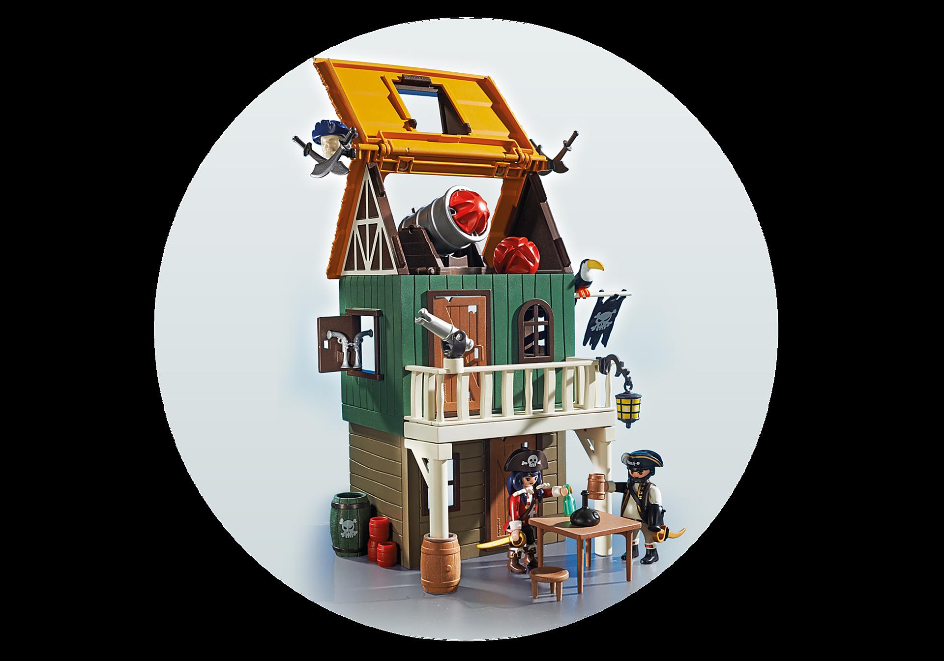 http://media.playmobil.com/i/playmobil/4796_product_extra3/Замаскированный Пиратский Форт с Руби