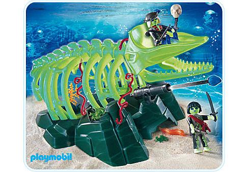 4803-A Squelette de baleine detail image 1