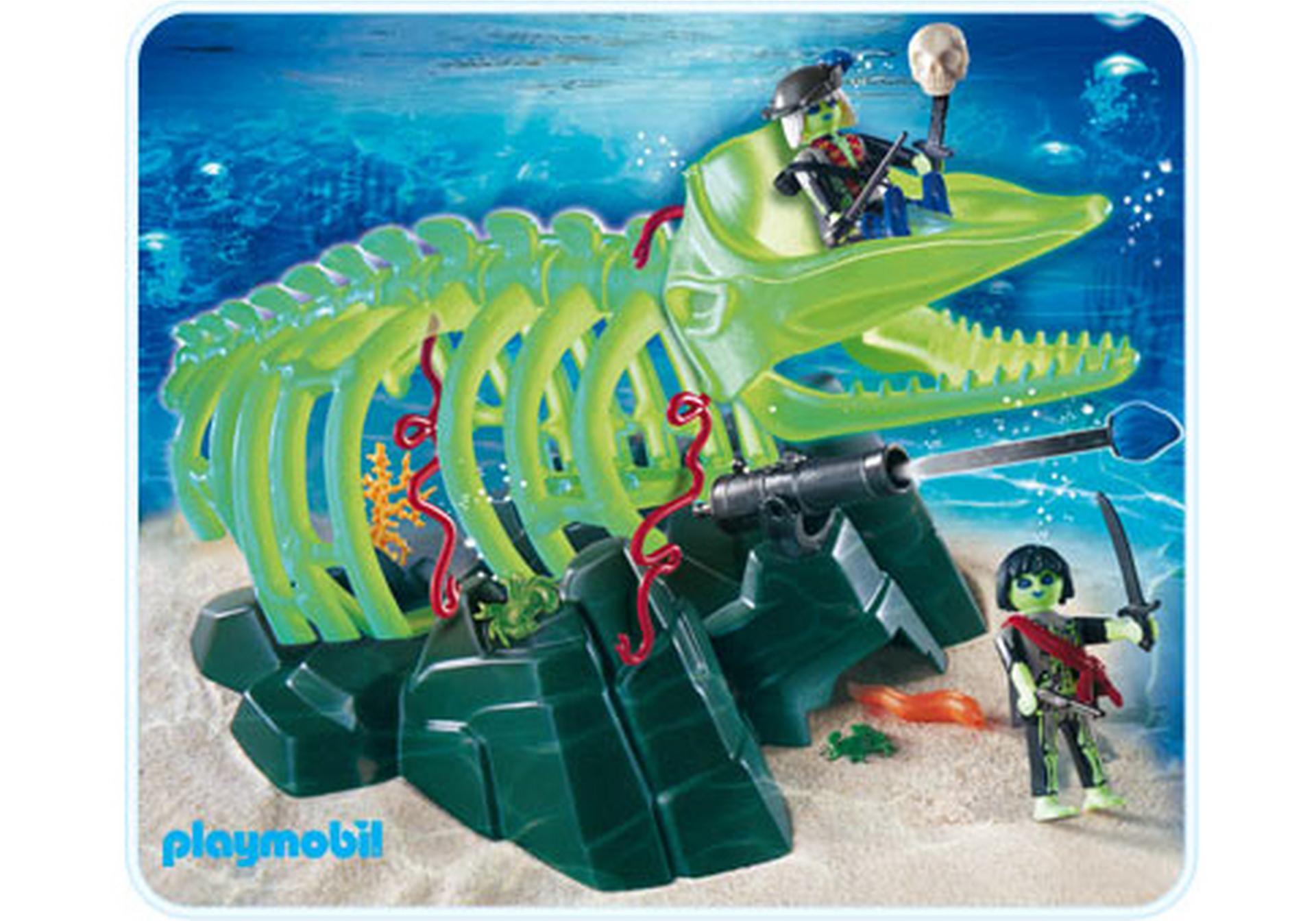 Geisterwalskelett 4803 a playmobil deutschland - Playmobil pirate fantome ...