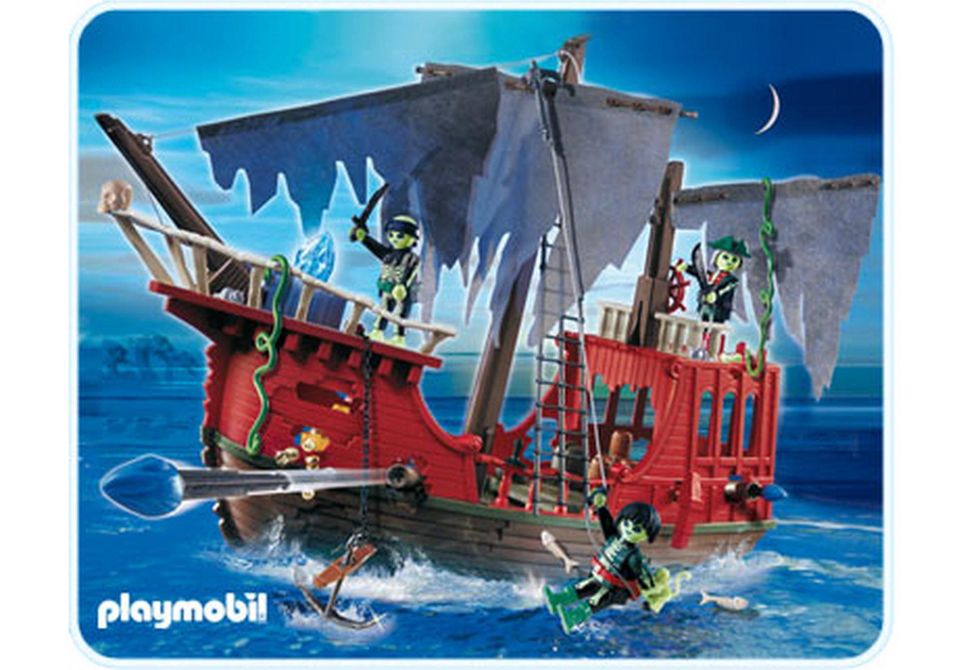 Bateau des pirates fant mes 4806 a playmobil france - Pirate fantome ...