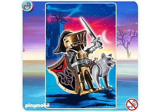 4807-A Chevalier des loups avec épée detail image 1