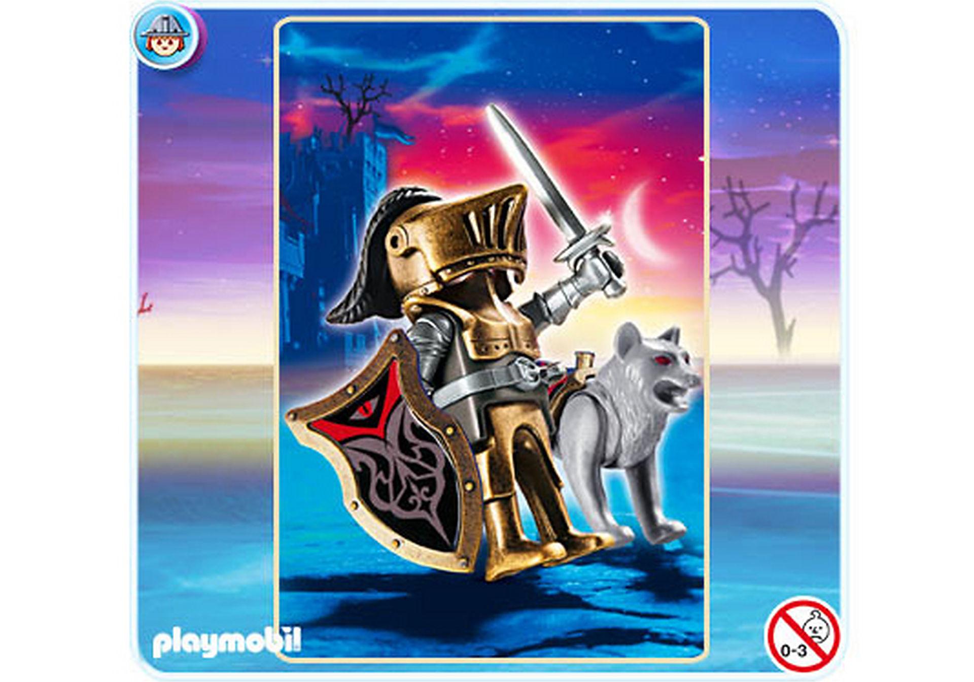 4807-A Chevalier des loups avec épée zoom image1