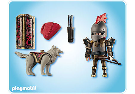 4808-A Chevalier des loups avec arc et flèches detail image 2