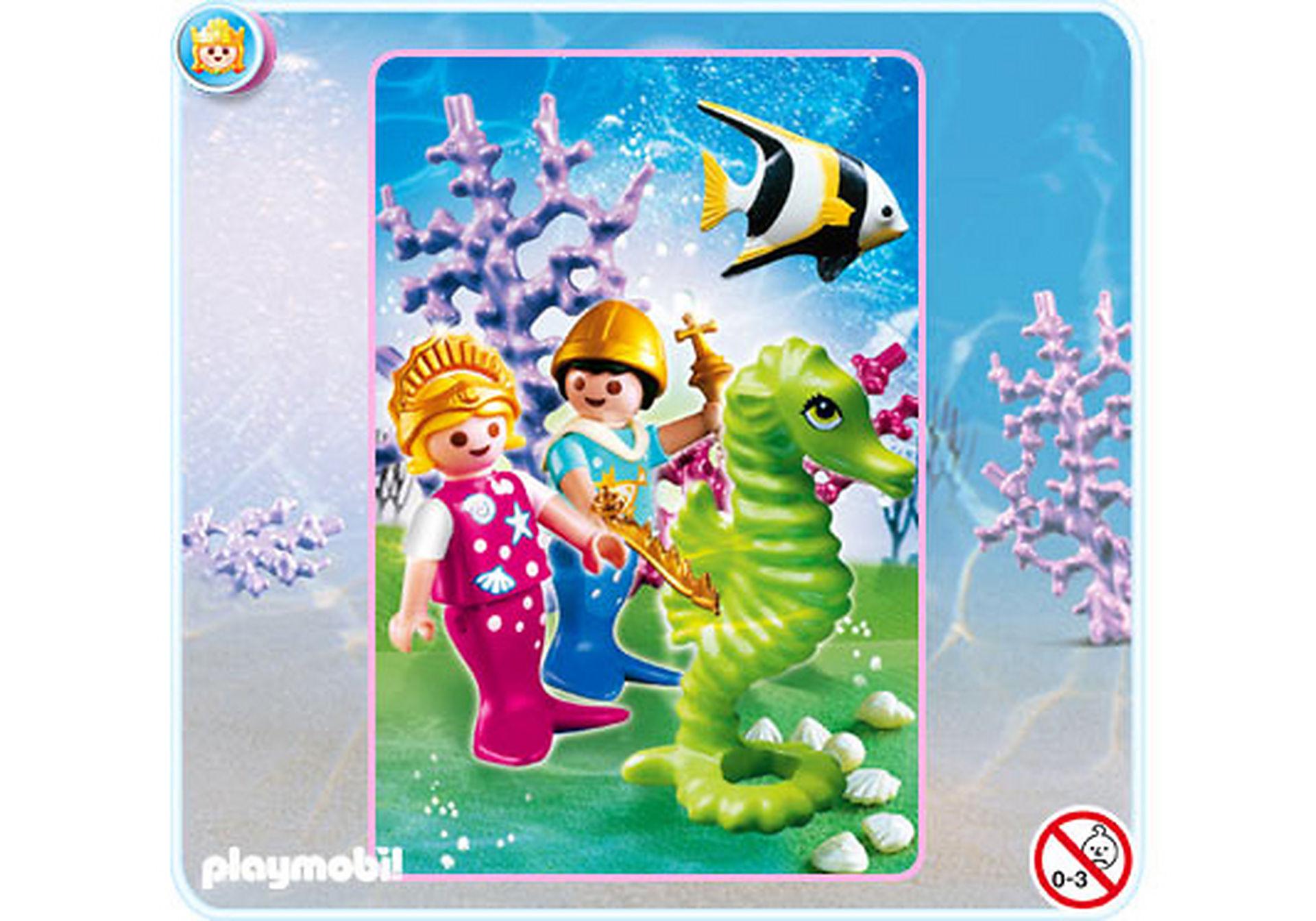 4814-A Petite sirène avec prince zoom image1