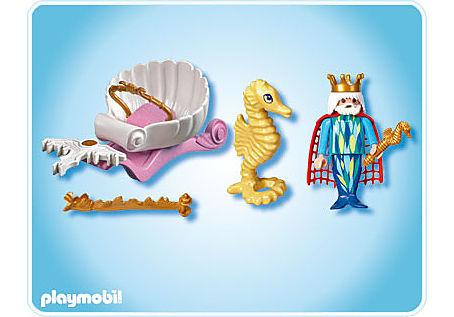 4815-A Meereskönig mit Seepferdchenkutsche detail image 2