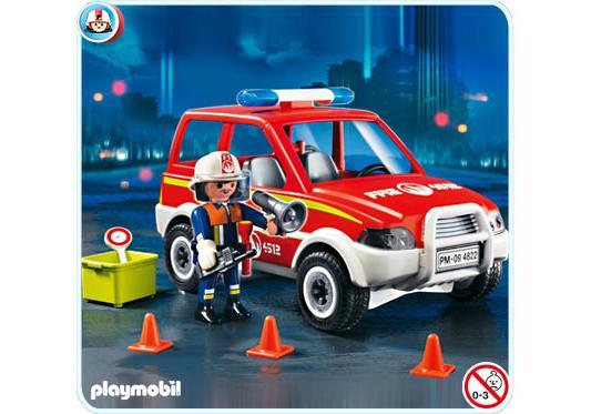 Voiture de pompier 4822 A PLAYMOBIL France