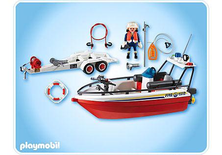 4823-A Feuerwehrboot detail image 2