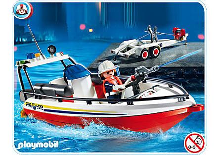 4823-A Feuerwehrboot detail image 1