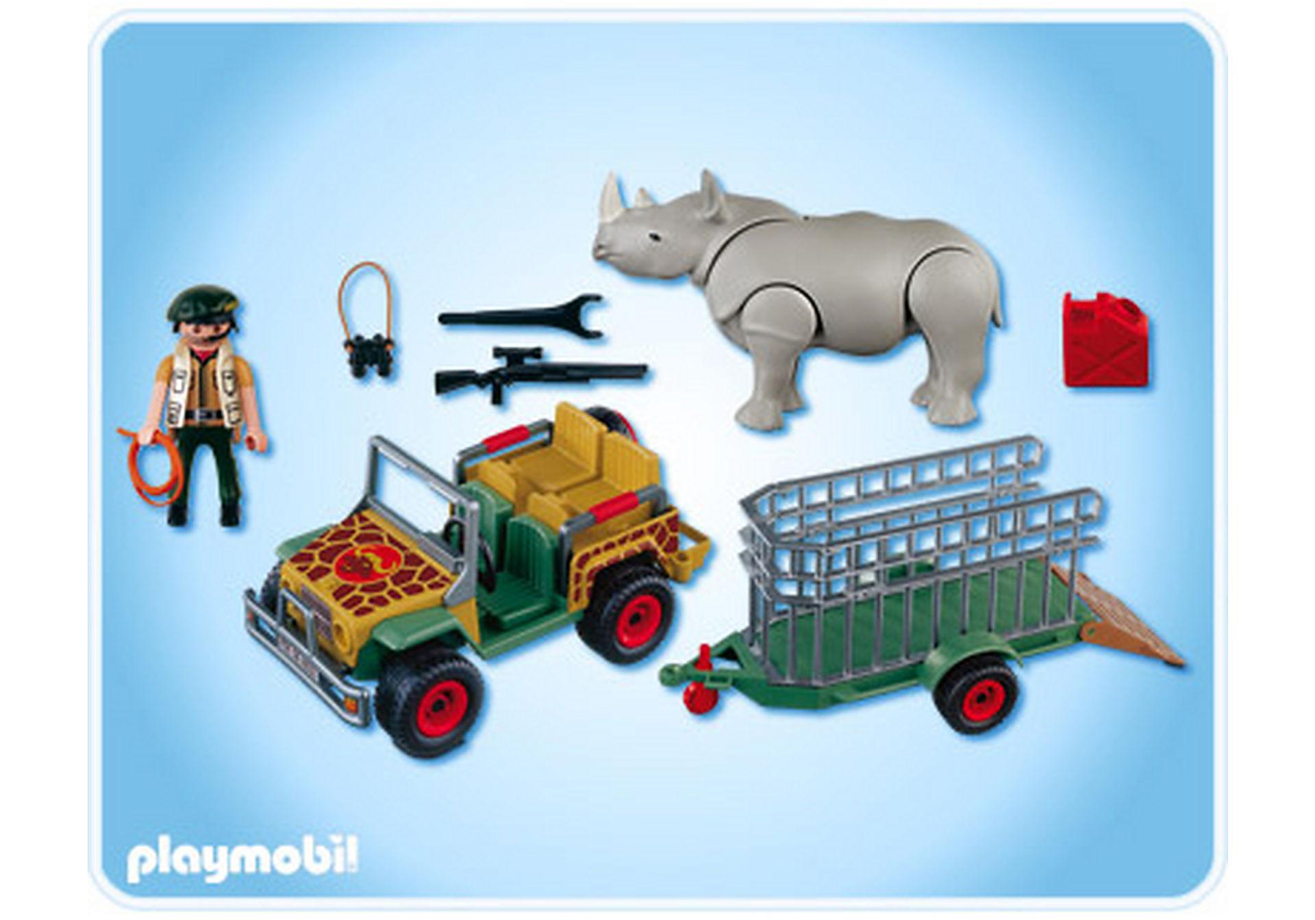 4832-A Rangerfahrzeug mit Nashorn zoom image2