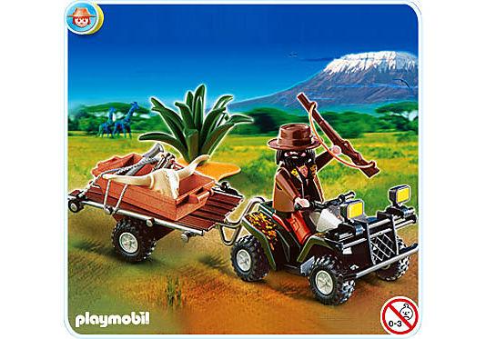 4834-A Quad safari et braconnier  detail image 1
