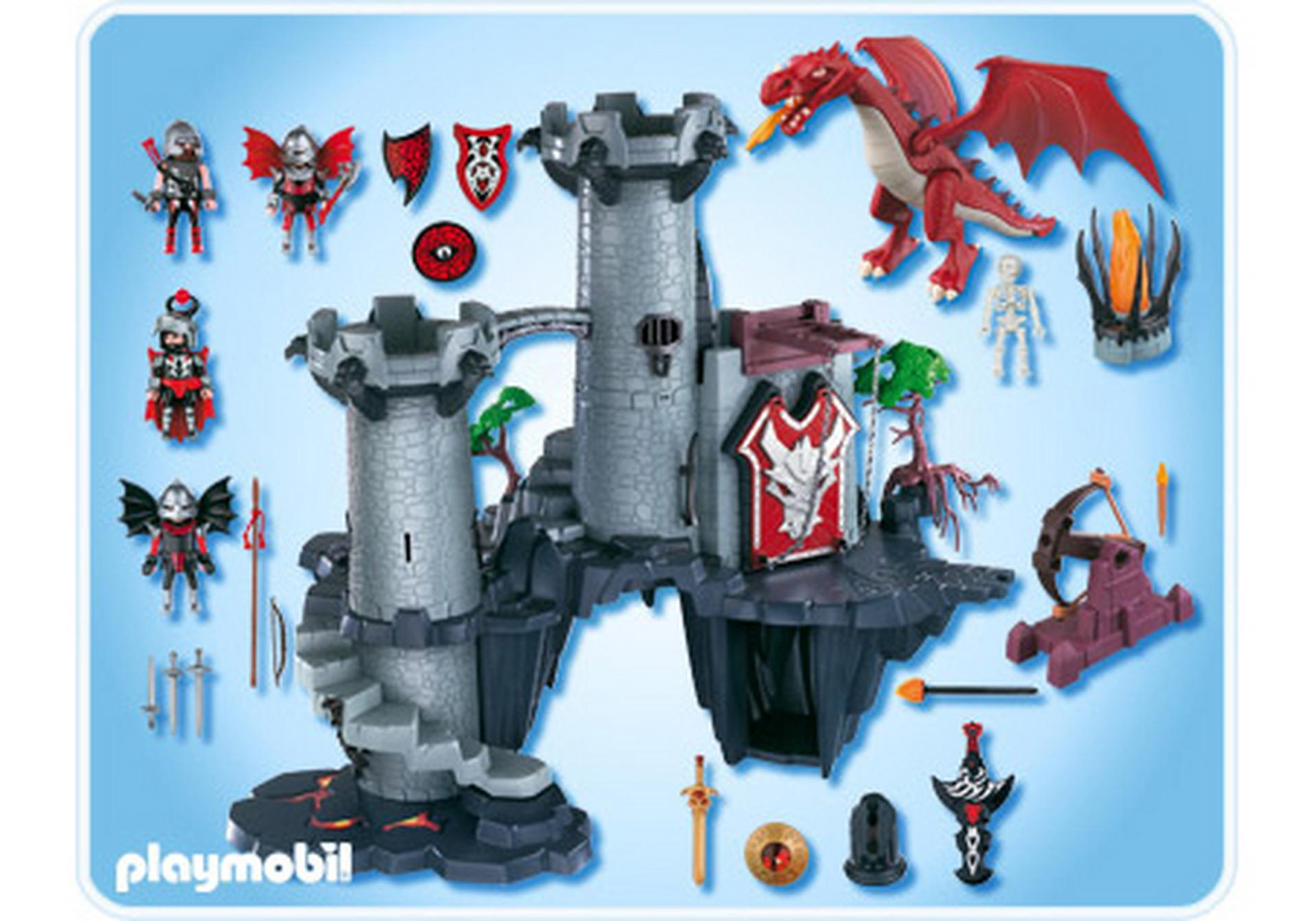 citadelle du dragon rouge 4835 a playmobil france. Black Bedroom Furniture Sets. Home Design Ideas