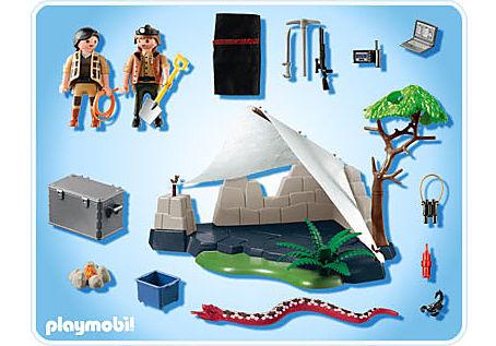 4843-A Campement des aventuriers detail image 2