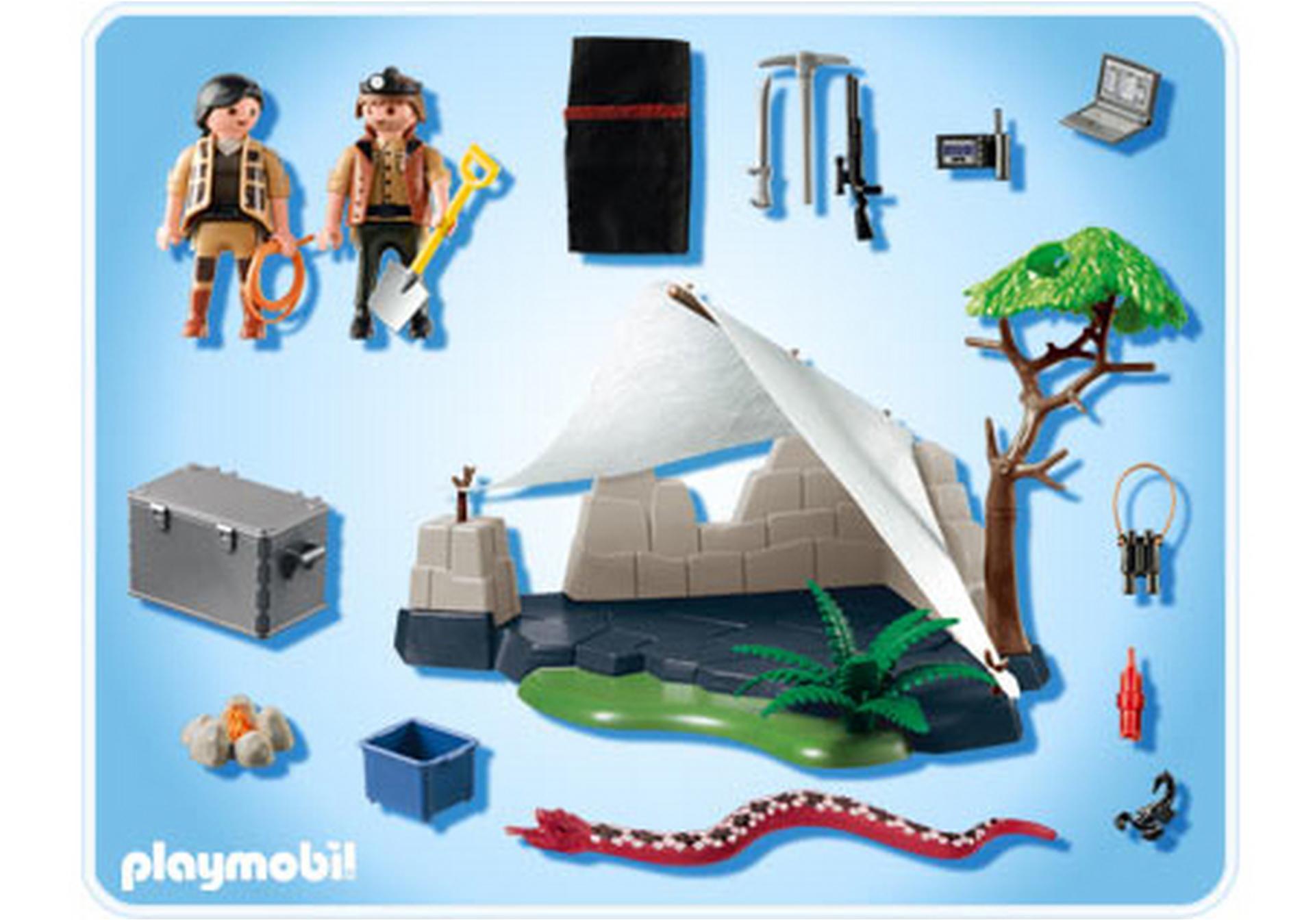 Campement des aventuriers 4843 a playmobil france for Playmobil segunda mano