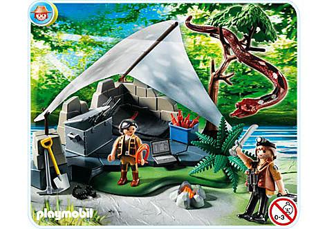 4843-A Campement des aventuriers detail image 1