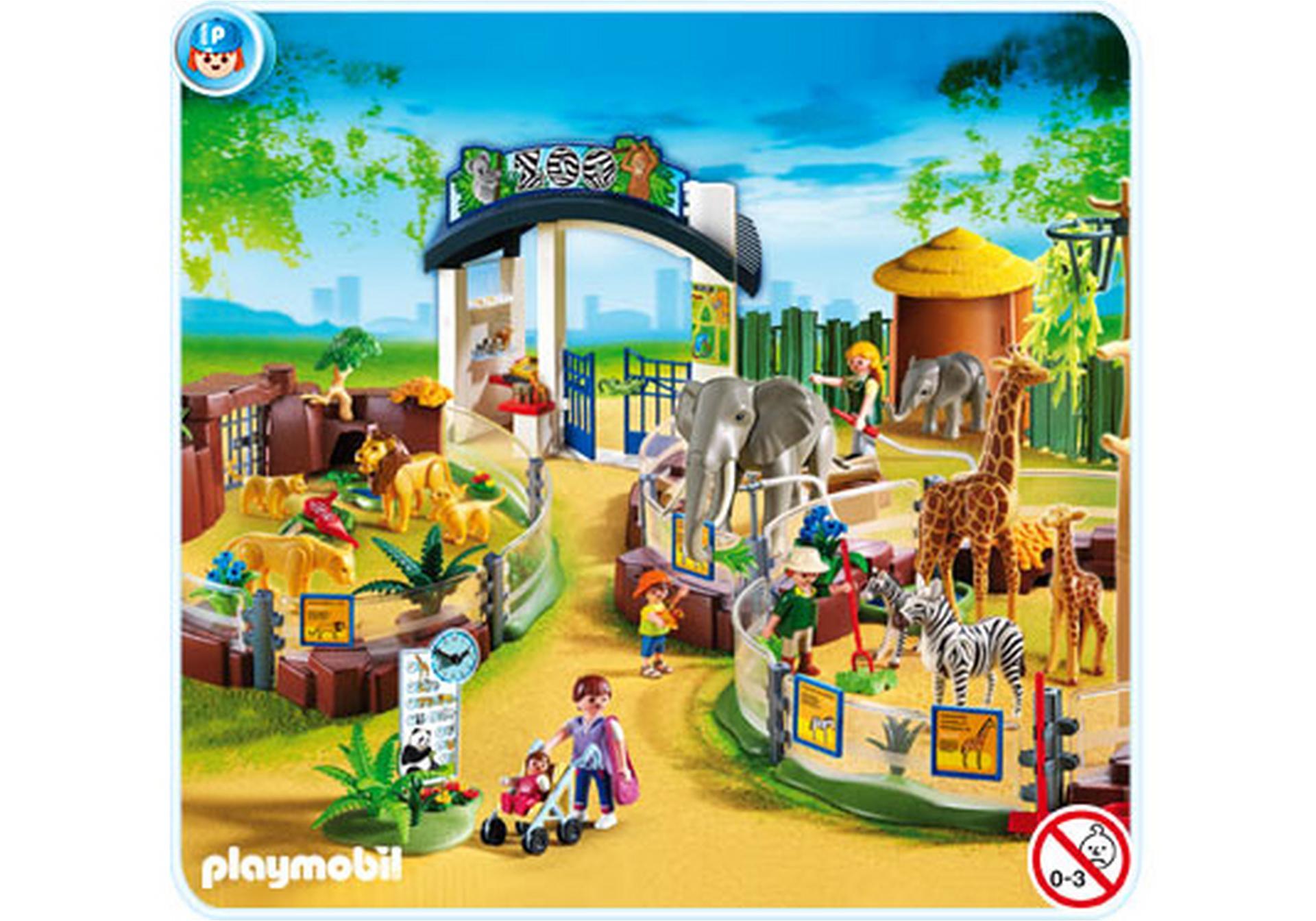 grand zoo 4850 a playmobil france. Black Bedroom Furniture Sets. Home Design Ideas