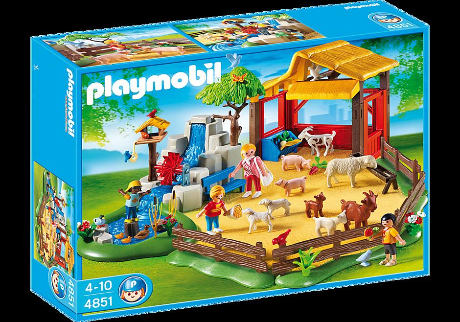4851 Parc animalier avec famille detail image 3