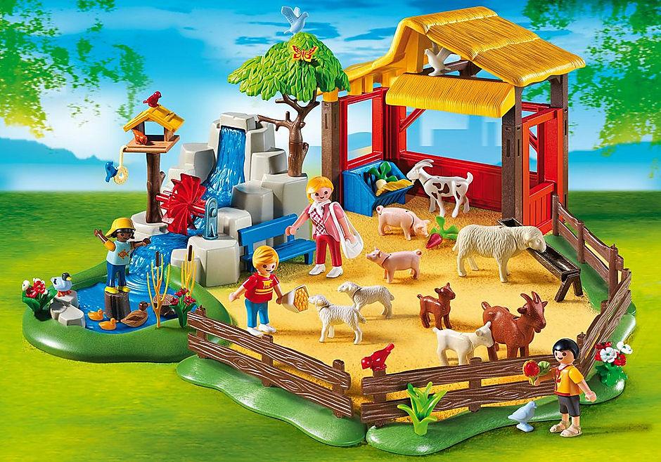 4851 Parc animalier avec famille detail image 1