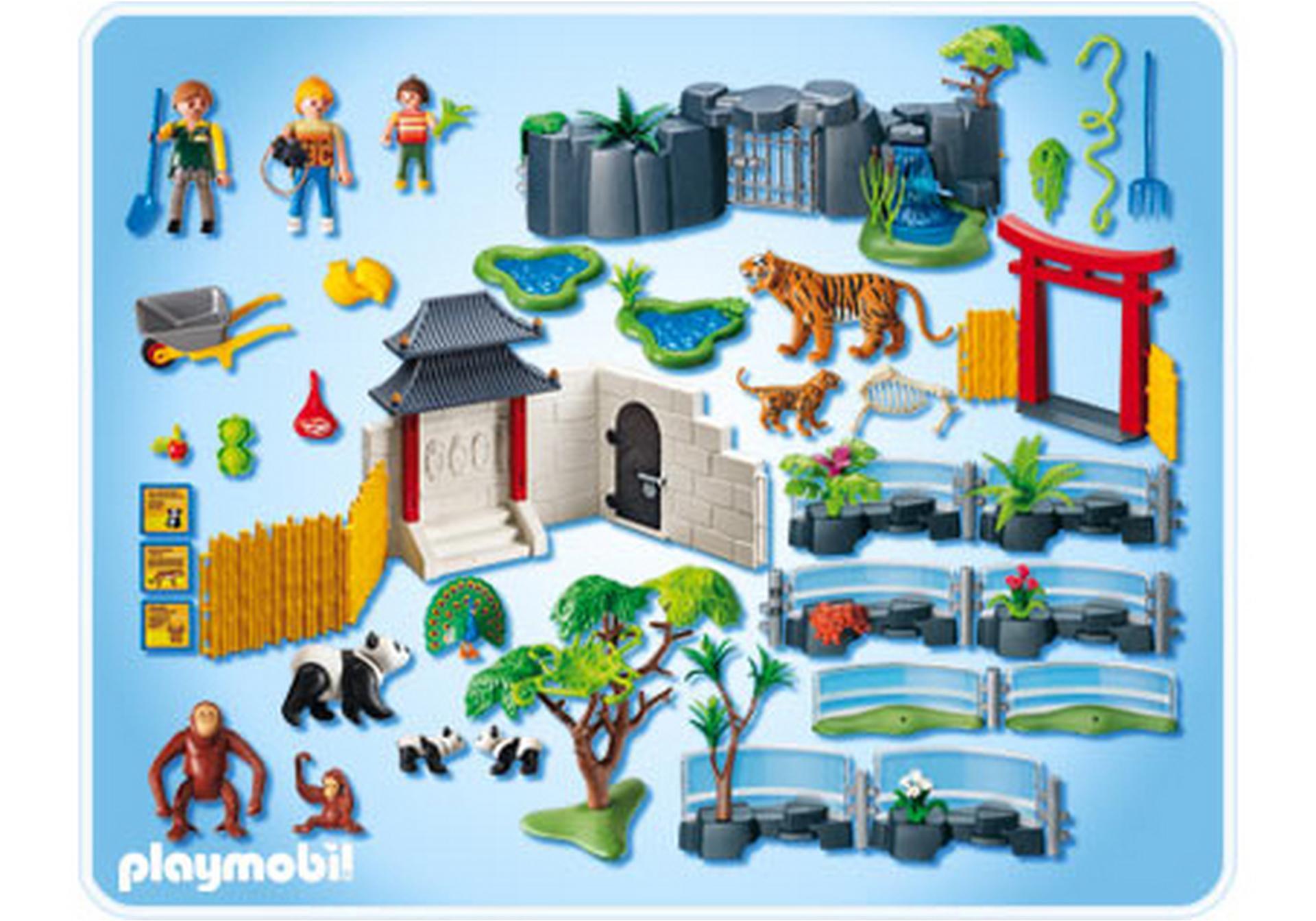 jardin zoologique asiatique 4852 a playmobil france. Black Bedroom Furniture Sets. Home Design Ideas