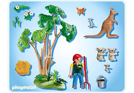 4854-A Arbre à koalas et kangourous detail image 2
